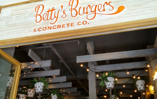 Betty's Burgers & Concrete Co, Melbourne