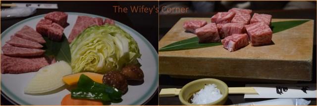 maruaki takayama Premium Hida Beef Plate & A5 Beef Cubes