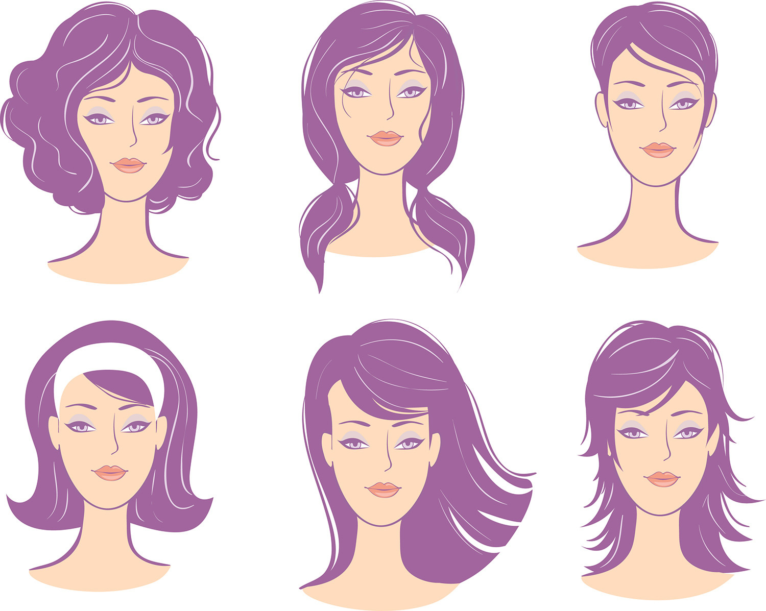 Which Hairstyle Is Best For My Face Shape? Wig Works And