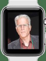 Ted Danson on Apple Watch by The Wikipedian