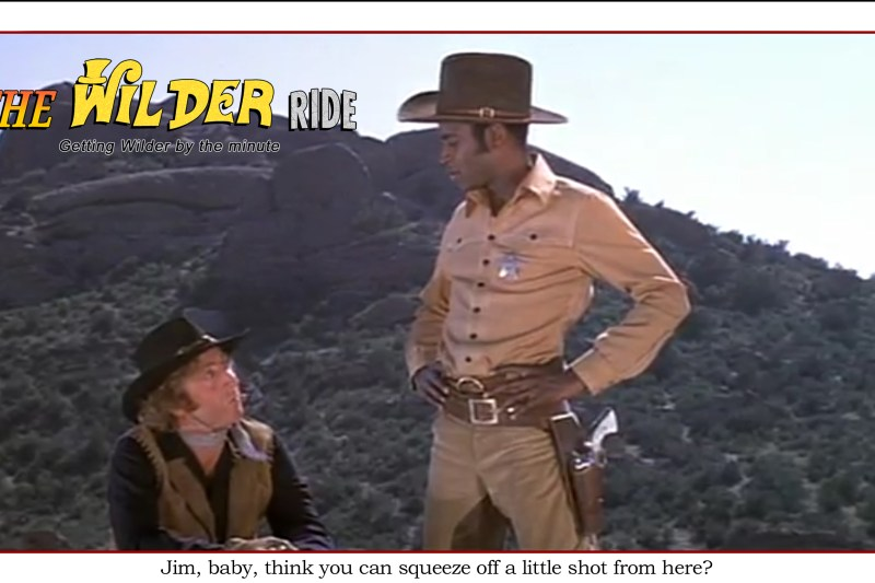 Blazing Saddles episode 81: Think you can squeeze off a little shot from here