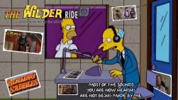 Mr Burns promotes - Blazing Saddles