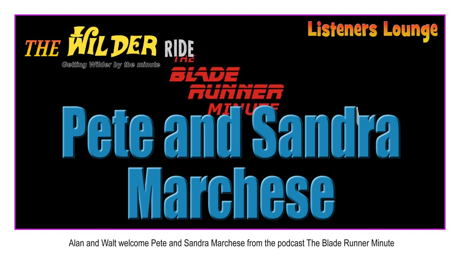 Pete and Sandra Marchese