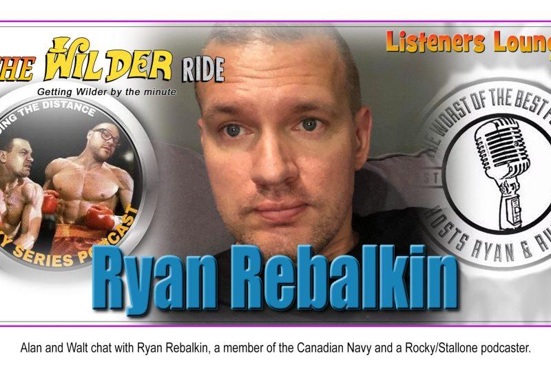 TWR Listeners Lounge – Ryan Rebalkin