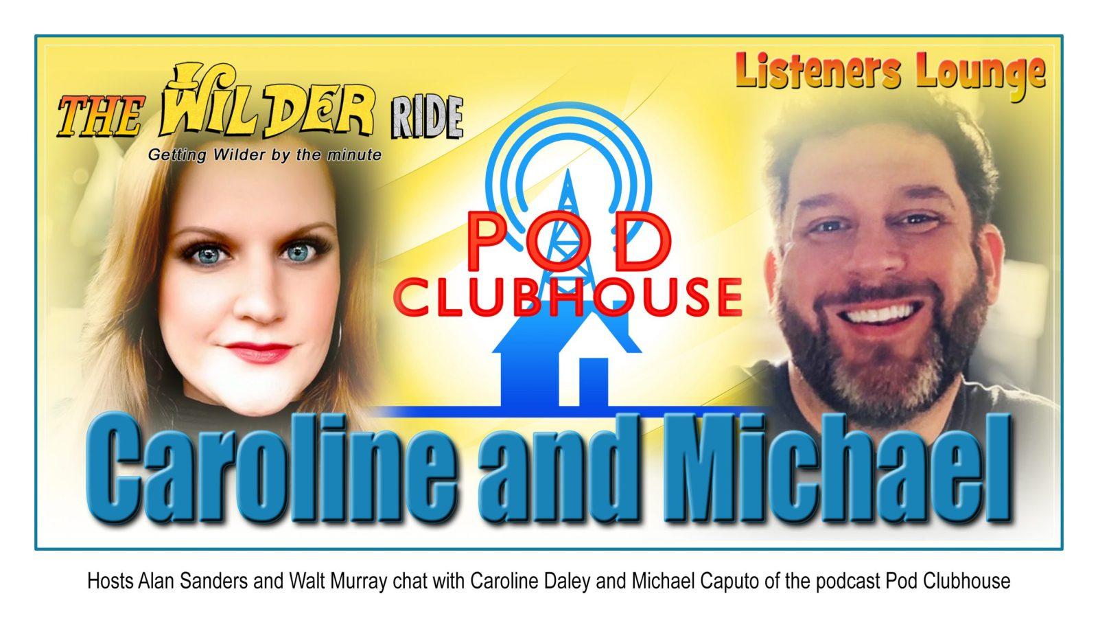 Caroline Daley and Michael Caputo of Pod Clubhouse
