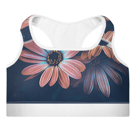Floral Padded Top