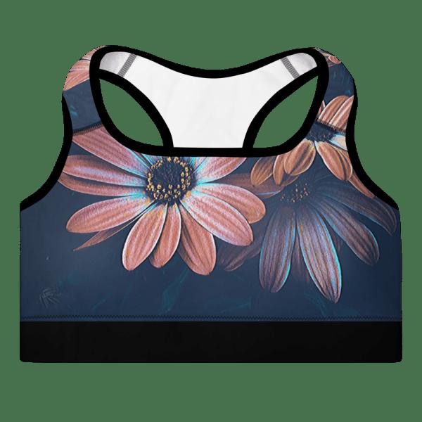 Floral Yoga Bra