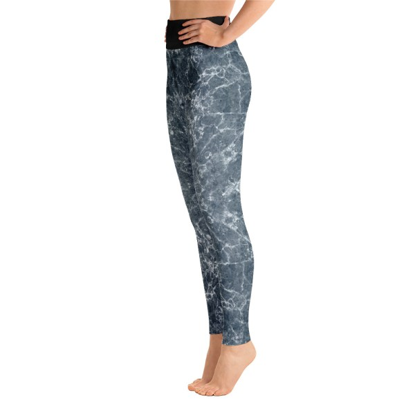 Grey Marble Leggings