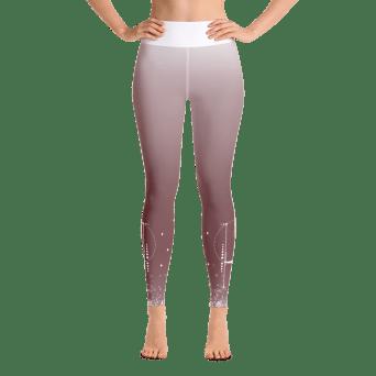 Pink Pastel Yoga Leggings