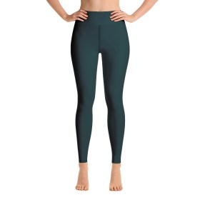 Dark Green Yoga Leggings