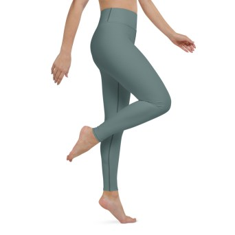 Dusky Green Leggings