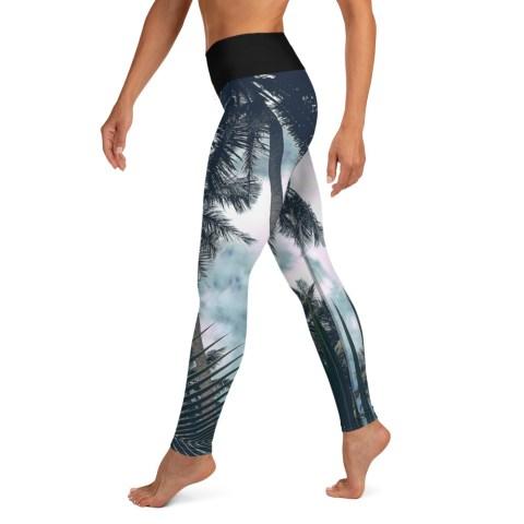 Tropical Yoga Leggings