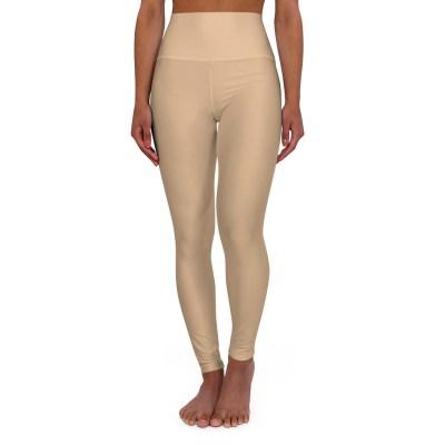 Nude Color Yoga Leggings