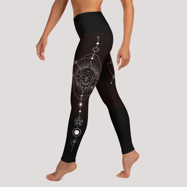 Witchy Ornament Yoga Leggings