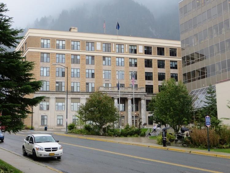 Alaska State Capitol in Juneau Alaska