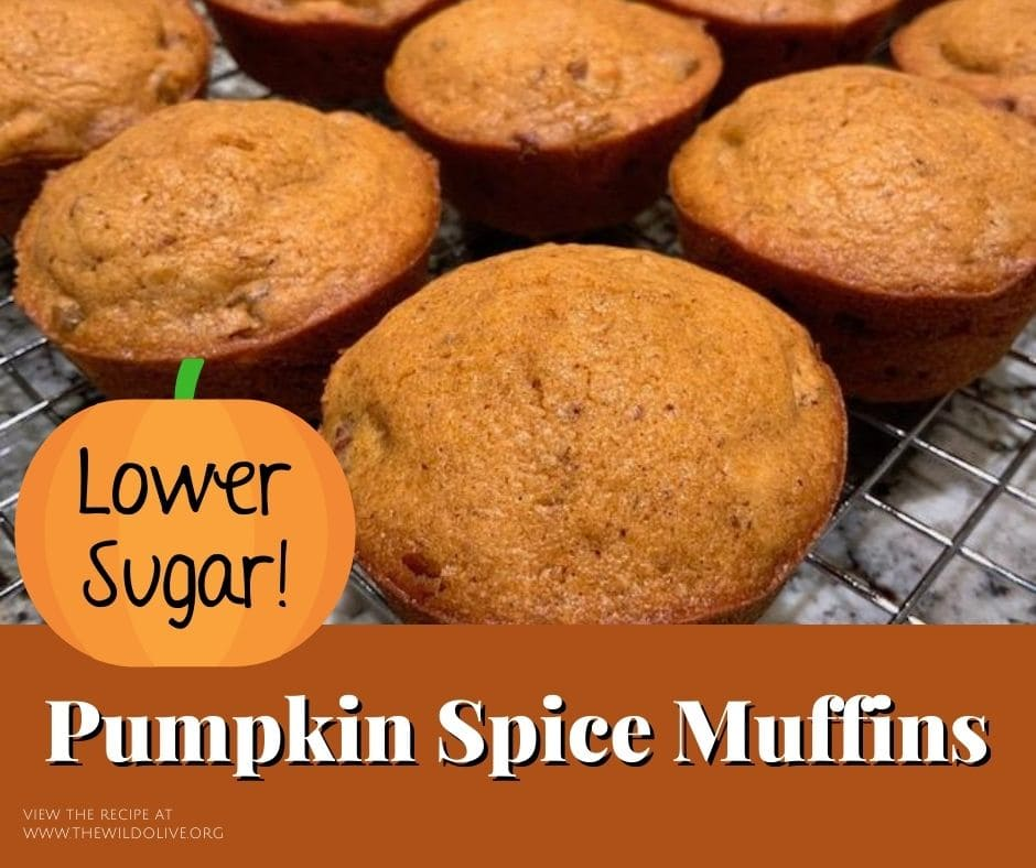 FB image for pumpkin spice muffins
