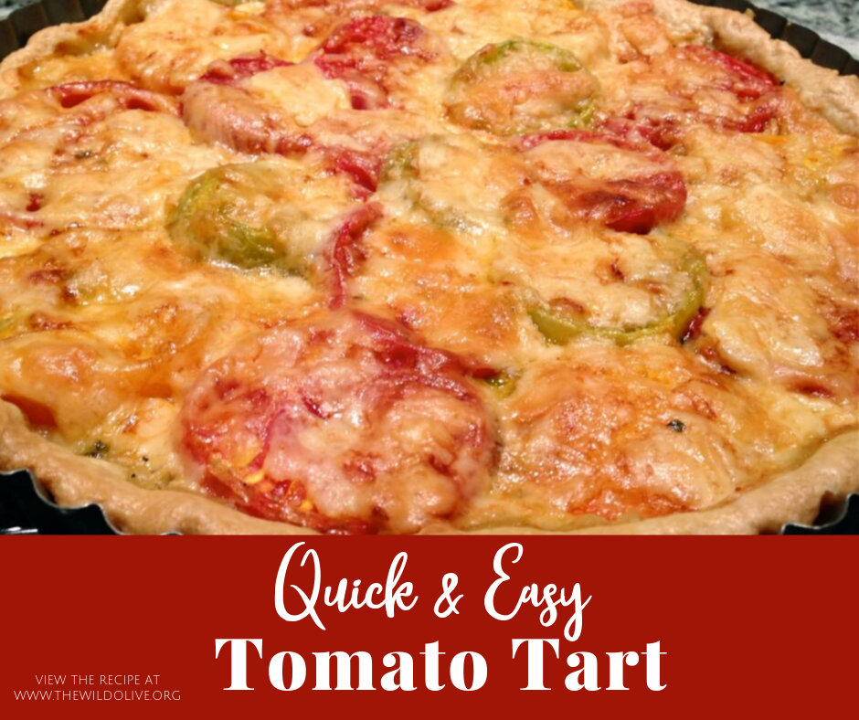 FB image for tomato and cheese tart