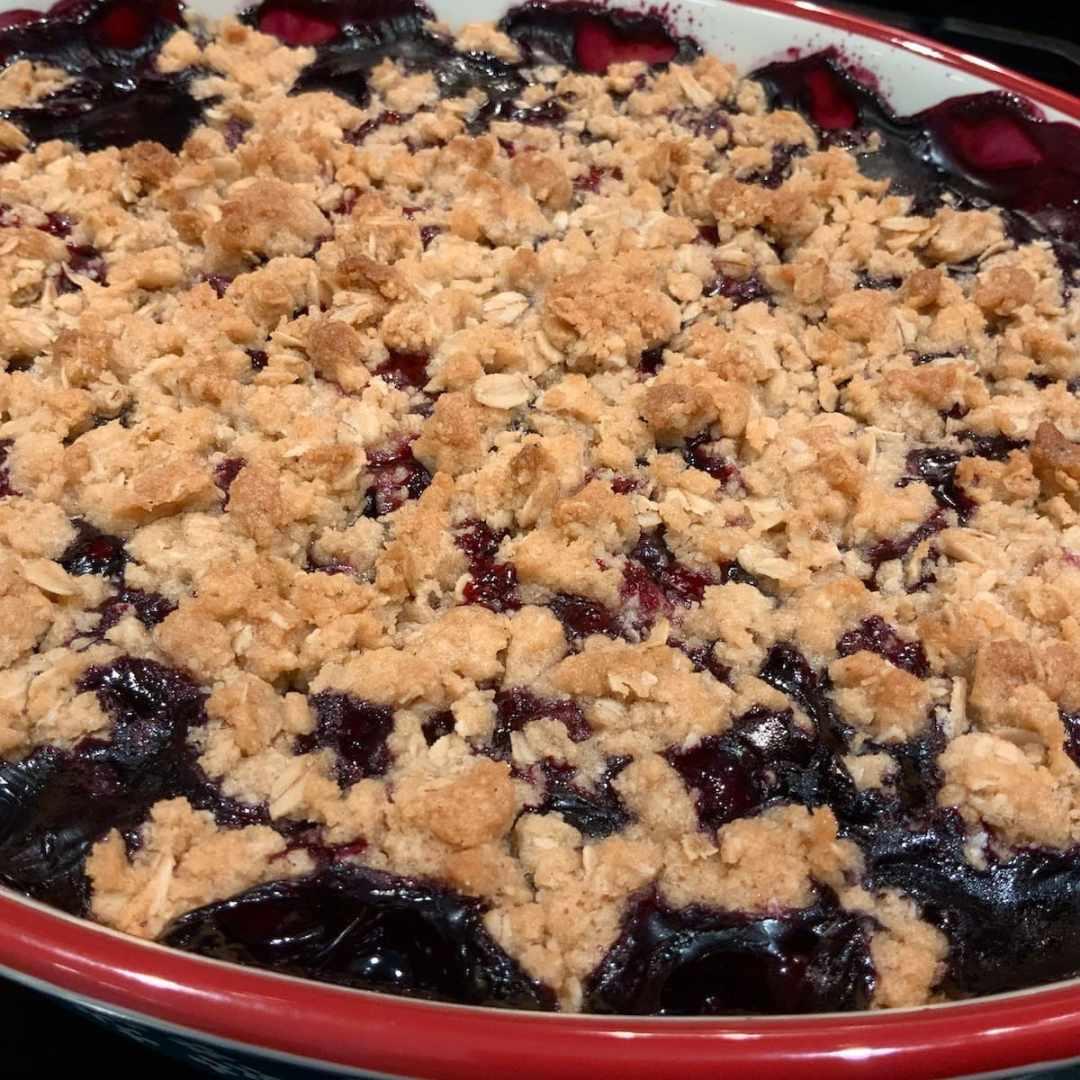 Blueberry Crumble | Fruit Desserts | Summer Baking | Blueberries