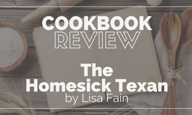 Cookbook Recommendation:  Lisa Fain's The Homesick Texan