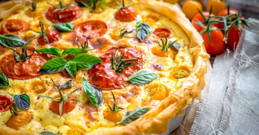 Beautifully baked quiche using tips to bake the perfect quiche