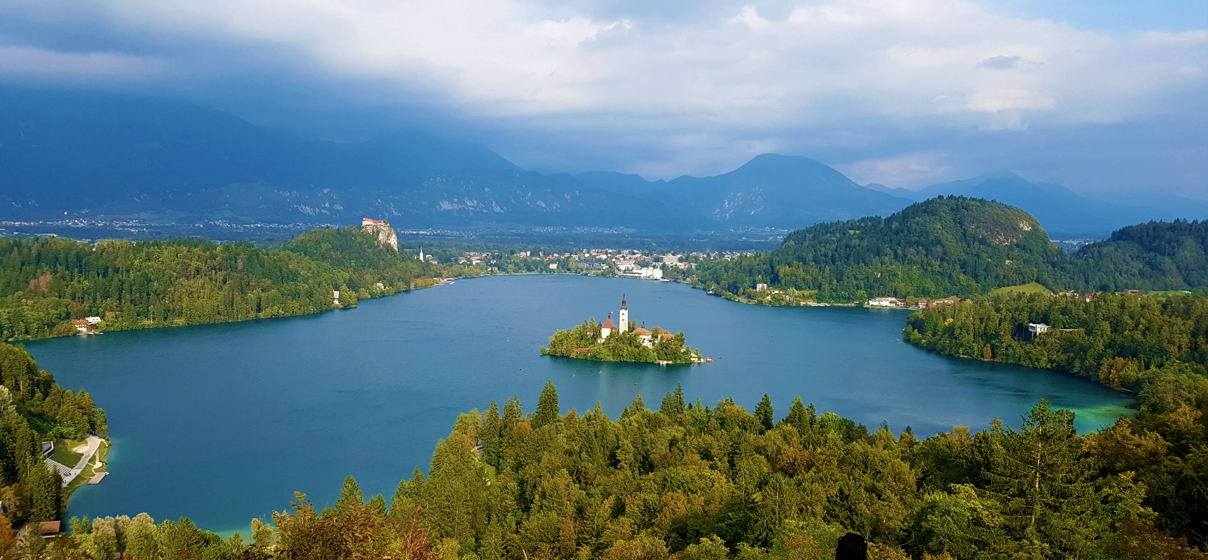 Lake Bled from view point
