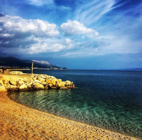 Beach in Split