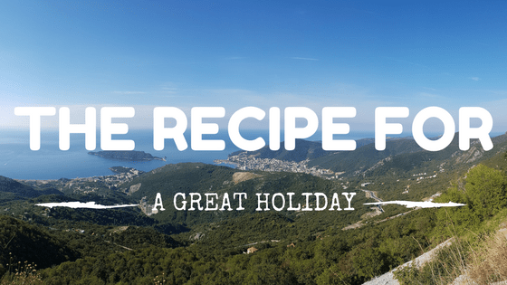 Recipe For A Great Holiday