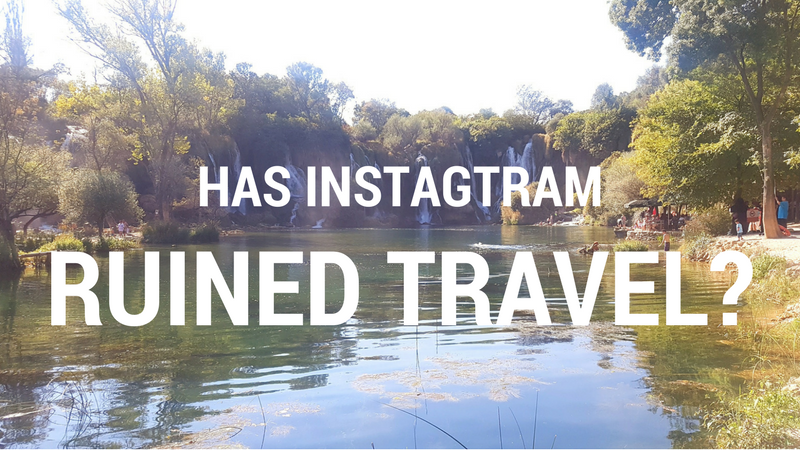 Has intragram ruined travel?