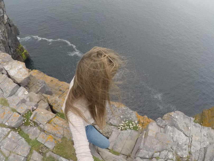 Dun Aonghasa Cliff Edge