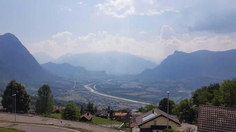 Views from Liechtenstein