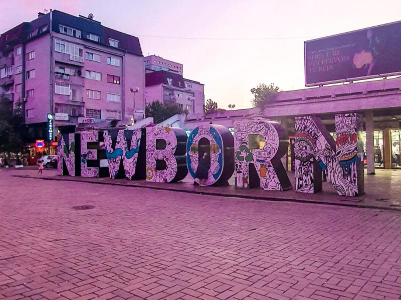 Newborn Monument Kosovo