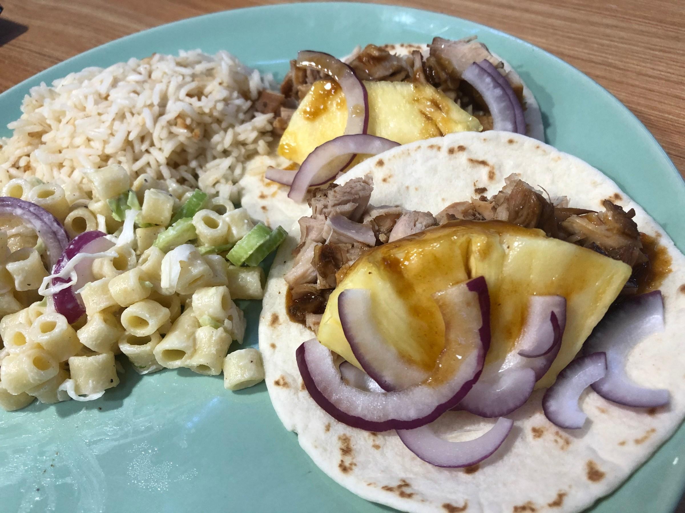 Instant Pot Hawaiian Teriyaki Tacos