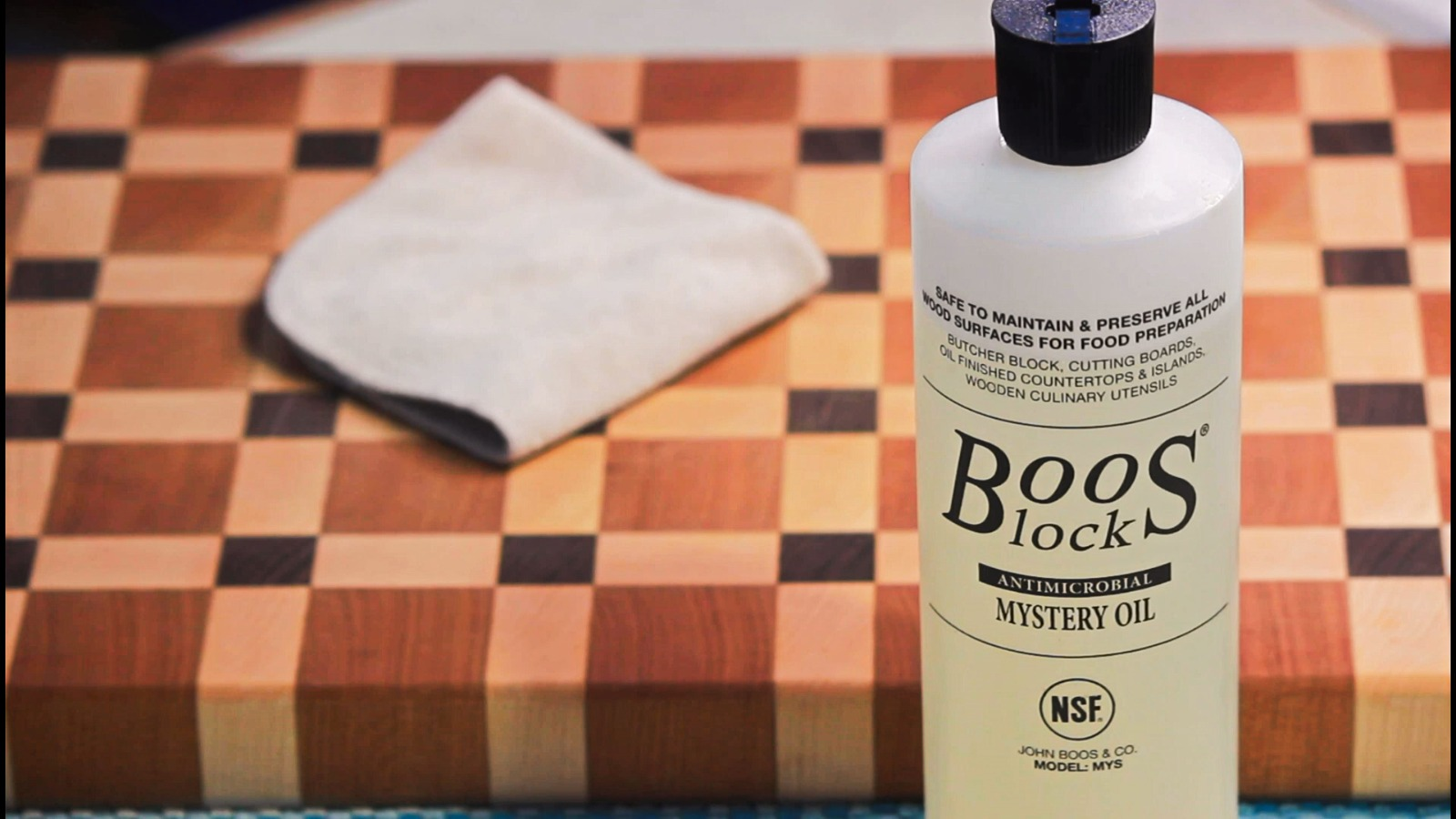 Oil and Wax A Wooden Cutting Board