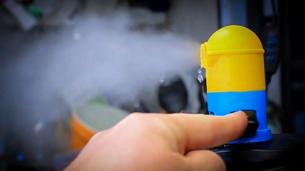 Minion steam diverter