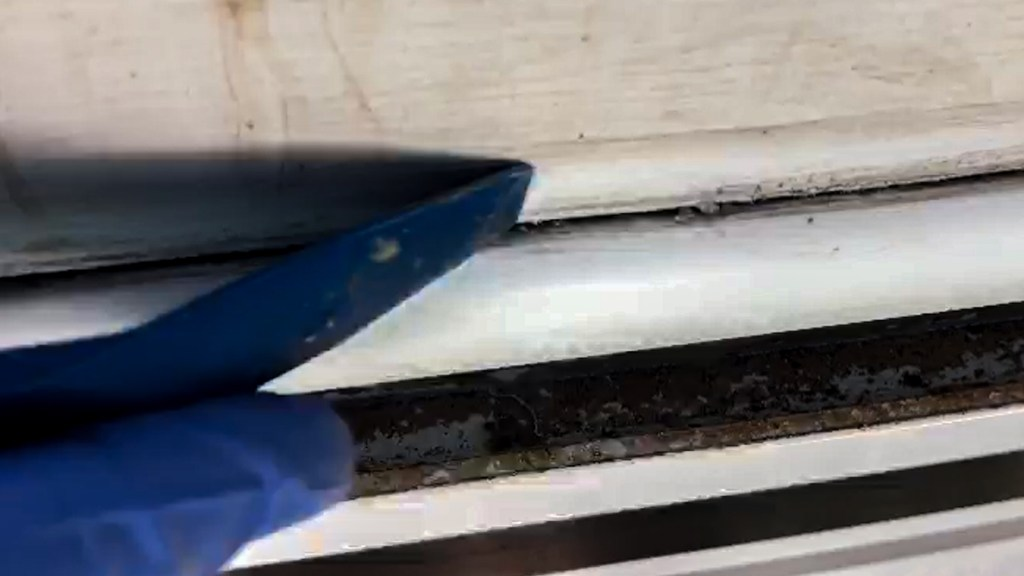plastic tool to remove old seal
