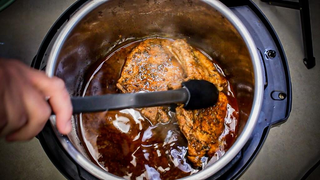 removing southwest pork chops
