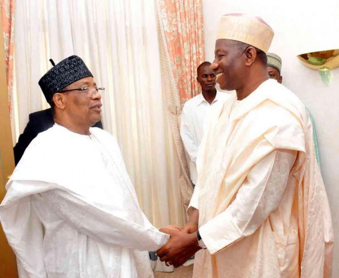 Image result for Jonathan, IBB in private meeting