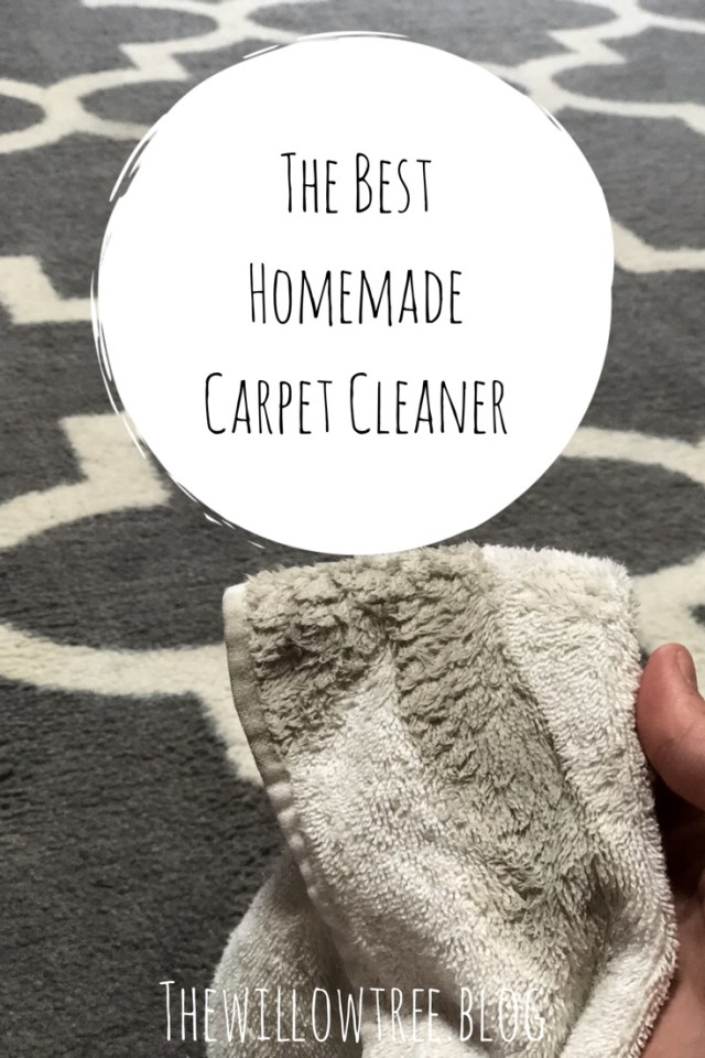 The best homemade carpet cleaner the willow tree this post does have affiliated links by you purchasing through these links i receive a small commission at no extra cost to you solutioingenieria Image collections
