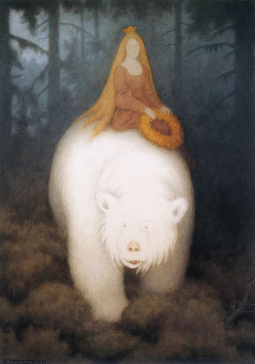 White Bear King Valemon Theodor Kittelsen