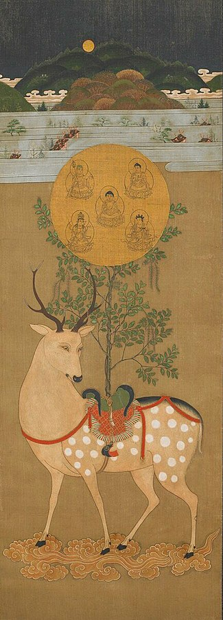 Kasuga Shrine deer painting