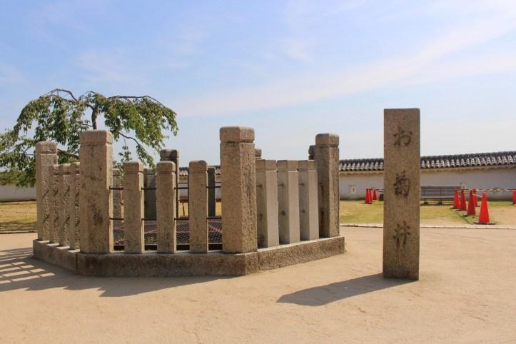 Okiku's well at Himeji castle