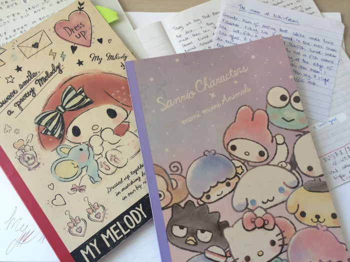 Amelia Starling Sanrio notepads