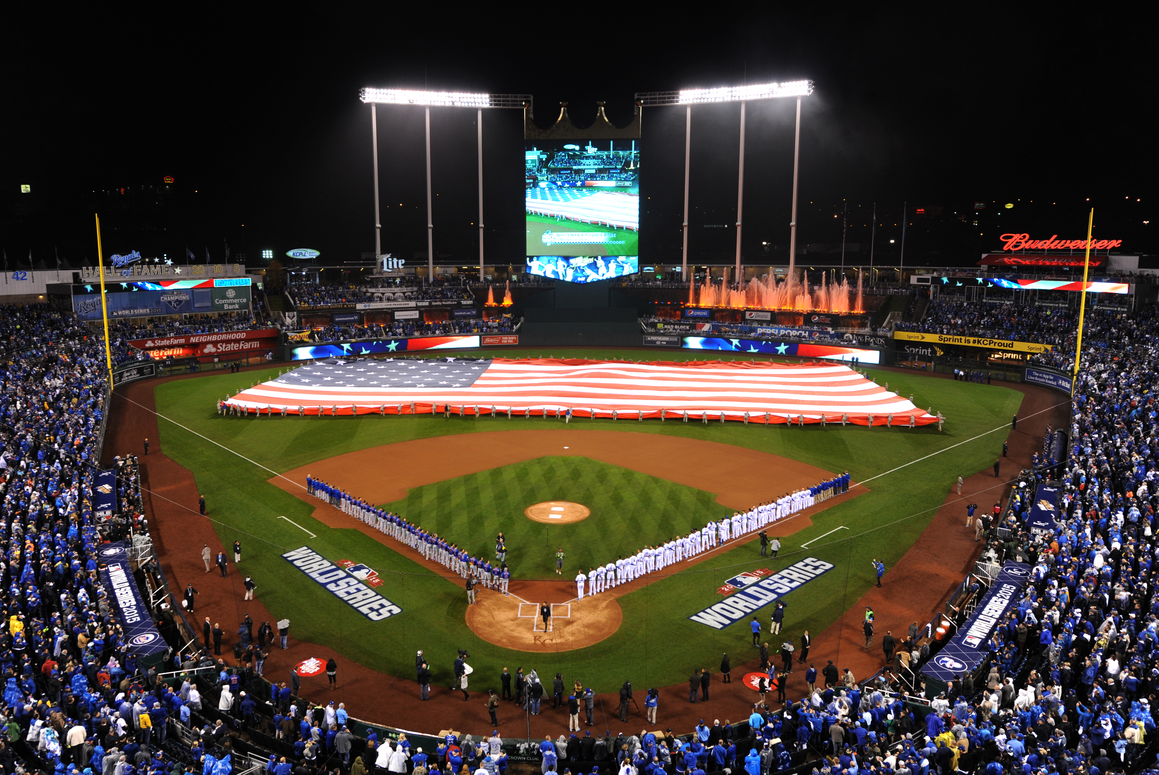 Image result for pre-game ceremony cubs world series
