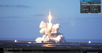 SpaceX Falcon Heavy Makes History With Successful Test Launch