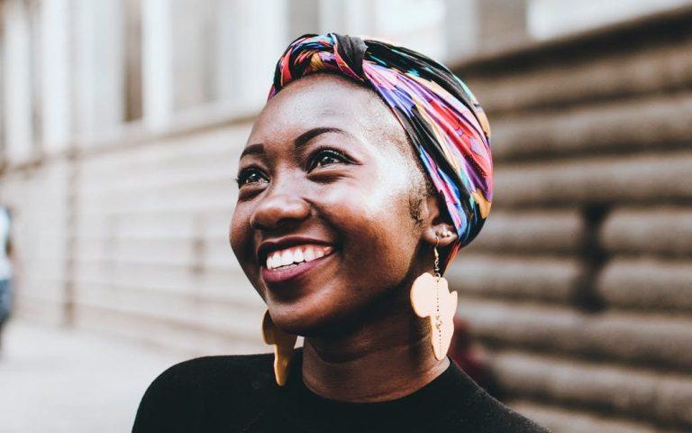 photo of woman wearing headscarf