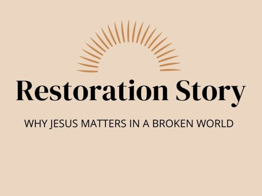 Book Review Restoration Story Graphic 1