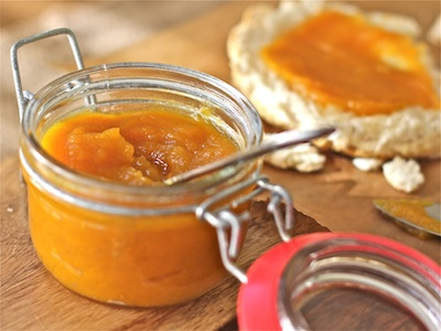 Pumpkin Honey Butter: The Wimpy Vegetarian