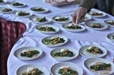 Broccolini with Burrata
