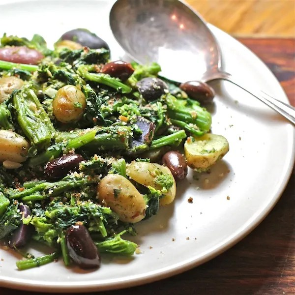 Broccoli Rabe with Potatoes