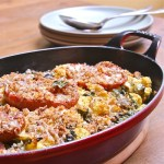 Rustic Cauliflower and Tomato Gratin : The Wimpy Vegetarian